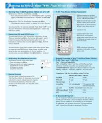 How To Make A Pie Chart On Ti 84 Plus Texas Instruments Ti 84 Users Manual Manualzz Com
