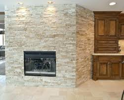 white stacked stone fireplace stacked stone fireplaces awesome stacked stone fireplace with lighting lamp and white white stacked stone fireplace