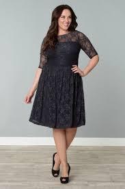 Kiyonna Luna Lace Plus Size Dress Favorite Trends