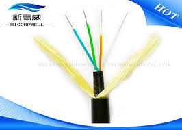 12 core 24 core glass fiber optic cable hybrid adss aerial sm mm under 110kv