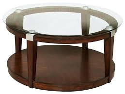 decor of dark brown coffee table hammary solitaire 2 piece round coffee table set in rich