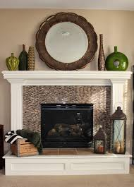 Fireplace Mantel Decorating Ideas Shabby Chic Telstraus