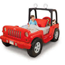 Jeep Toddler Bed, Red Kids Cars Furniture Bed