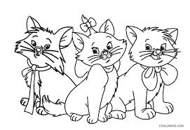 Coloring pages are fun for children of all ages and are a great educational tool that helps children develop fine motor skills, creativity and color. Free Printable Cat Coloring Pages For Kids