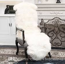 soft sheepskin chair cover warm carpet seat pad plain skin fur plain fluffy area rugs washable bedroom faux mat seat pads iranian carpets mercial