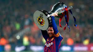 كم عدد الجوائز الفردية وبطولات ميسي مع برشلونة؟