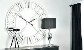 oversized wall clocks uk excellent minimal sleek clock rustic decor large ove