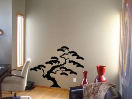 bonzai tree wall stickers for living 2017 with room paint stencils pictures sticker decoration painting