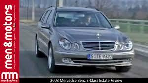 2003 Mercedes-Benz E-Class Estate Review - YouTube