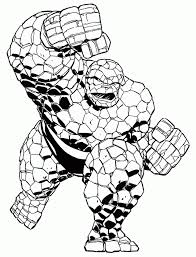 Marvel Coloring Pictures With Comic Sheets Also Kids Image Number