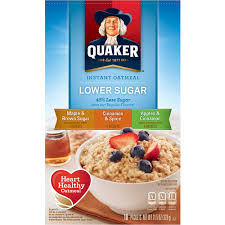 i prefer long cooked oatmeal when i m at home but we ve always packed instant oatmeal with us when cing i think the habit goes back to when erik and i