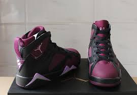jordan shoes for girls black and purple. air jordan 7 retro mulberry girls womens jordans 7s basketball shoes sd47 for black and purple p