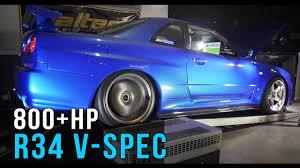 Nissan R34 GT-R V-Spec | 800+hp Skyline - YouTube