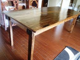 How To Make Kitchen Table How To Make A Dining Room Table From Reclaimed Wood Grstechus