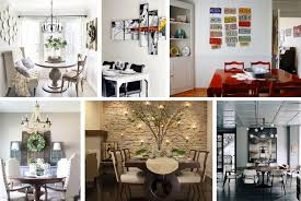 And while an entire plant is probably not the first thing you think of for a dining table centrepiece, a contained and compact cactus makes a great styling statement, as does. 20 Creative Dining Room Wall Decor Ideas You Ll Want To Try At Home