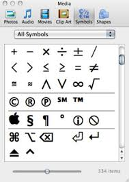 Inserting Symbols And Special Characters In Office 2011 For Mac