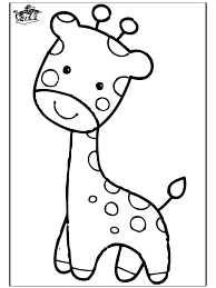 Small Picture Baby Giraffe Elephant outline Baby elephants and Giraffe