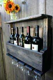 wine glass shelf holder pottery barn rack24 rack