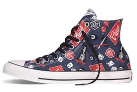 all star shoes for girls 2015. blue high tops converse chuck taylor all star american icon print canvas shoes,converse sale shoes for girls 2015
