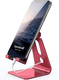 <b>Adjustable Cell Phone Stand</b>, Lamicall Phone Stand: Amazon.co.uk ...