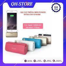 🔥Sale Tuyệt Đỉnh🔥] Sạc Dự Phòng Mini Cho Iphone Power 3000mAh