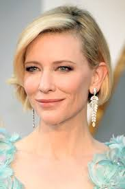 Best Brush For Bob Hairstyles Cate Blanchetts Oscars 2016 Bob Haircut Pret A Reporter
