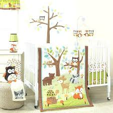 woodland nursery bedding such a cute set for forest animal nature theme baby crib sheets ideas