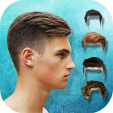 Hairstyle Simulator App men hairstyles hair changer android apps on google play 5439 by stevesalt.us