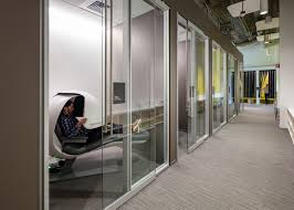 Internal office pods Meeting Room Samsung Campus By Nbbj Pinterest Samsungs Silicon Valley Office By Nbbj Features Nap Pods