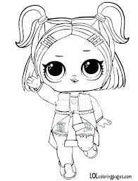 Lol Dolls Coloring Pages Queen Bee