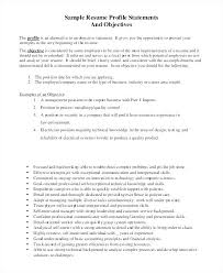 Resume Objective Statement Interesting Example Resume Objective Statements Orlandomovingco