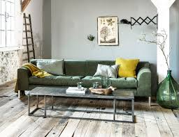 industrial style living room furniture. industrial living room with pops of green and yellow a wooden floor couch style furniture t