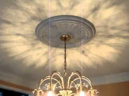 how to install a ceiling medallion part 3 the completed project