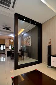 Wooden Partition With Glass To Separate Dining Place From Living Living  Room Partition ~ qvitter.