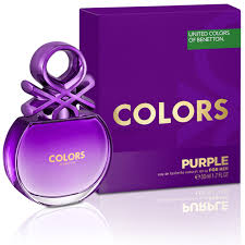 NEW: <b>Benetton</b> - <b>Colors de Benetton Purple</b> For Women!