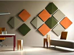 decorative acoustic panels free polyester material