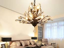 china led light crystal pendant lighting ceiling light fixtures chandeliers lighting for living room bedroom restaurant porch chandelier black bronze