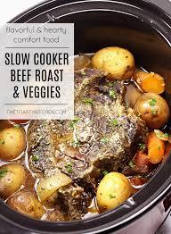 slow cooker beef roast with potatoes