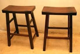 remarkable backless wooden bar stools cherry wood and iron natural natural wood backless bar stools kitchen