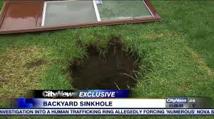 mystery of the giant backyard sinkhole solved
