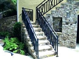 s wrought iron handrails for outdoor steps uk