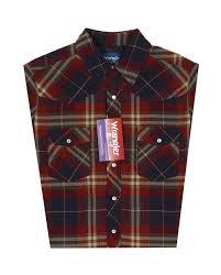 Wrangler® Men's Quilt Lined Flannel Shirt - Fort Brands & Wrangler® Men's Quilt Lined Flannel Shirt Adamdwight.com
