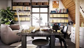 creative home office spaces. Home-office-at-inspiration-creative-delightful-workspaces Creative Home Office Spaces T