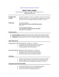 Combination Resume Sample Cover Letter Template For Examples