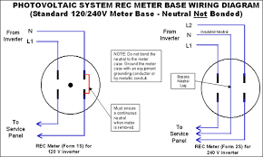 rec meter wiring diagram this sketch is not intended to provide an nec compliant electrical design or directives for full nec compliance