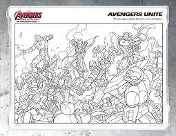 Avengers Coloring Page Trustbanksurinamecom