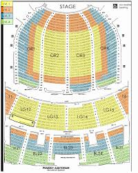 Theater Seat Views Chart Images Online