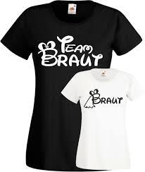 Jga T Shirt Team Braut Süßes Frauen Junggesellinnenabschied