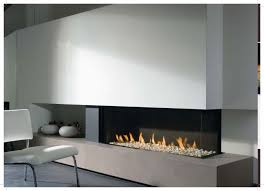 contemporary fireplace insert gas