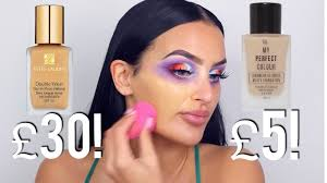 estee lauder vs primark 30 vs 5 the exact same foundation